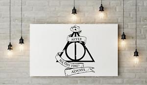 Harry Potter, dopo tutto questo tempo di trasferimento Wall Art Decalcomania FI34  </span>