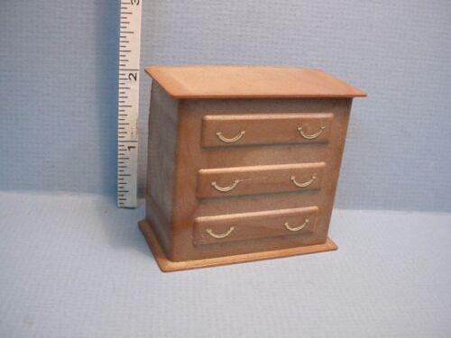 Plastic Dollhouse Miniature Small Dresser Battery Box #MH610 3 Volt