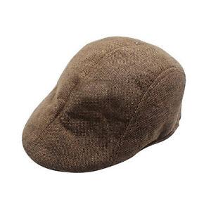 41ebc05db0c Details about Fashion Newsboy Cap Mens Boys Ivy Hat Golf Driving Flat  Cabbie Beret Driver Hat
