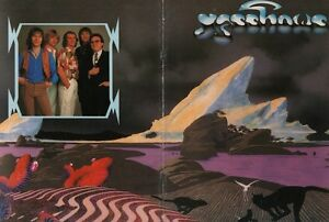 YES 1980 DRAMA TOUR U.S. CONCERT PROGRAM BOOK BOOKLET / JON ANDERSON / EXT 2 NMT