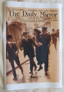 1914-Suffragette-Mrs-Pankhurst-Arrested-HIQ-Large-Format-Art-Poster-36-034-x25-034