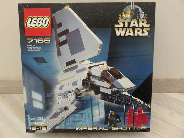 Star Wars Lego 7166 Imperial Shuttle ohne Figuren