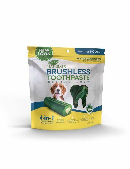 Ark Naturals Breath Less Brushless Toothpaste Sm Med Dog Treats For Sale Online Ebay