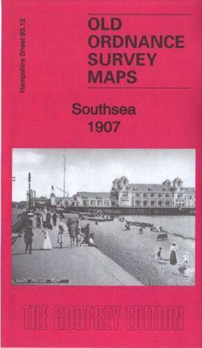 OLD ORDNANCE SURVEY MAP SOUTHSEA 1907 KINGS TERRACE HAVELOCK WARD ST PAUL WARD