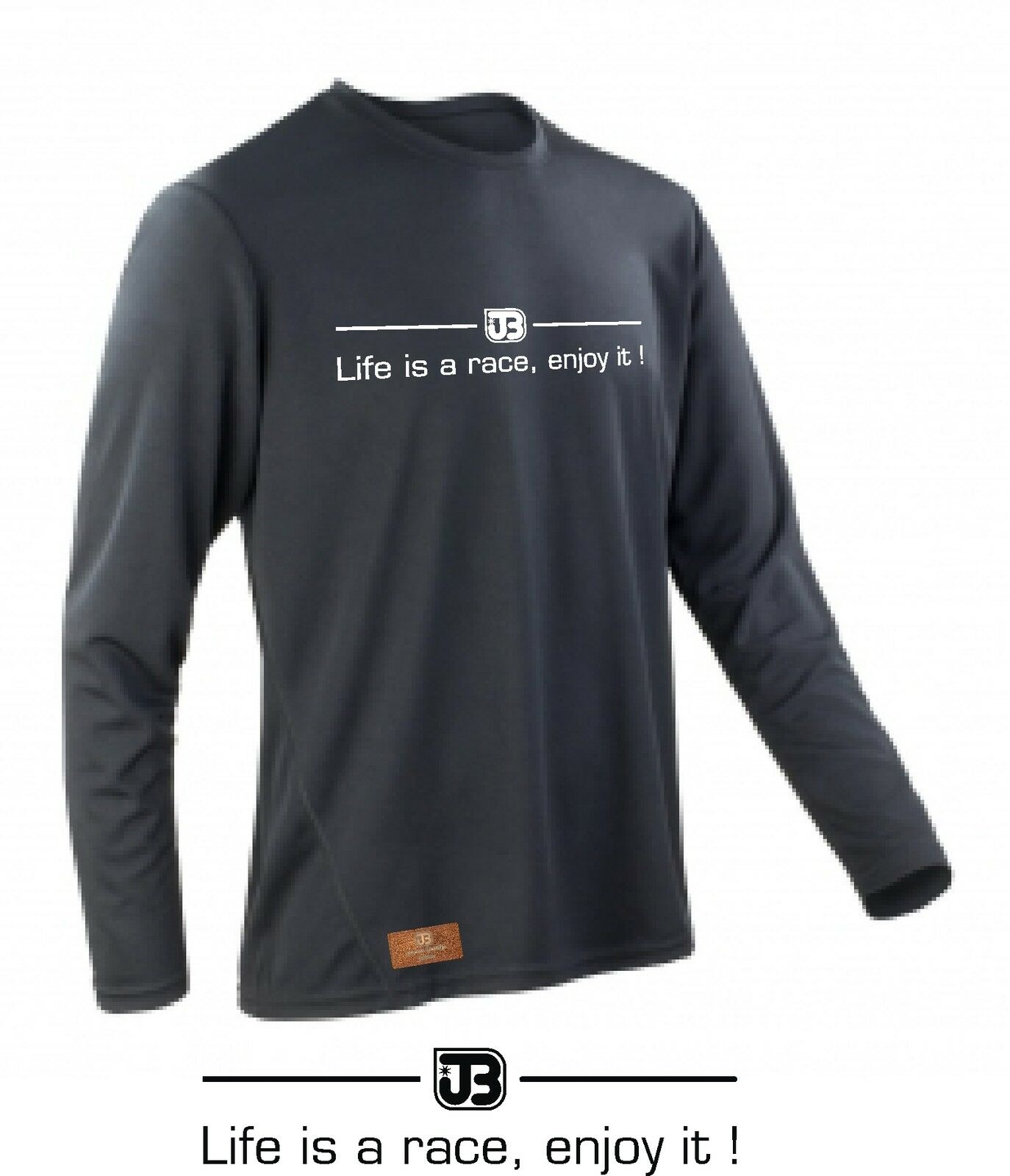 Jollify Life Is a Race, Enjoy It  Shirt Tricot MTB Bike Dh XC Am Enduro Jersey