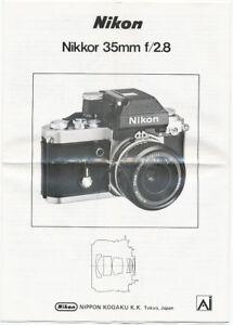 Nikon-Nikkor-35-mm-f-2-8-pieghevole-in-diverse-lingue-E176