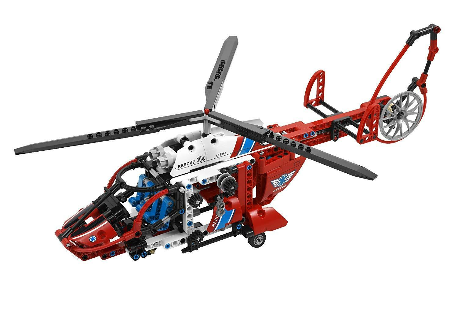Lego Technic Rescue Helicopter 8068 8068 8068 - retired 57a29a