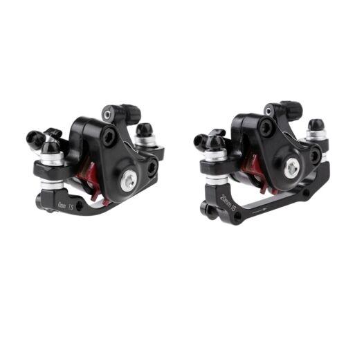 2Pcs MTB Mountain Bike Bicycle Mechanical Disc Brake Front//Rear Calipers