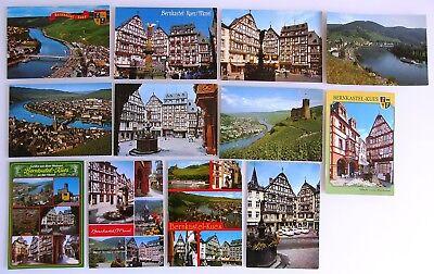 Postkarten Lot Bernkastel-kues Mosel 12 Ak Ansichtskarten Ungelaufen Ca Ab 1970