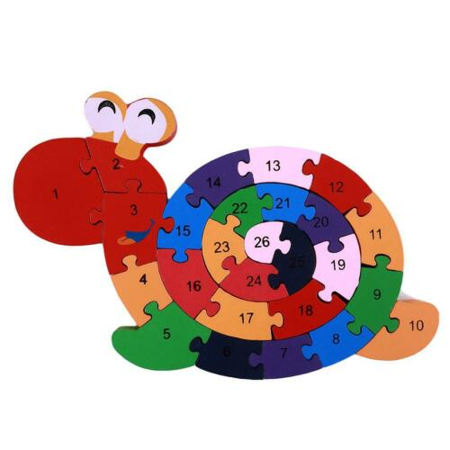 Kids Baby Educational Toys Wood Building Intellectual Developmental Blocks LJ
