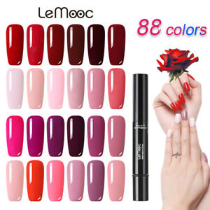 88-Color-Nagel-Gellack-Soak-off-Nail-UV-Gel-Polish-Nail-Art-Base-Top-Coat-LEMOOC