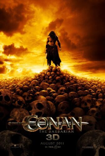 CONAN THE BARBARIAN REMAKE POSTER A4 A3 A2 A1 CINEMA MOVIE FILM LARGE FORMAT