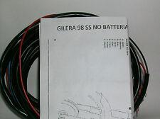 IMPIANTO ELETTRICO ELECTRICAL WIRING MOTO GILERA 98 NO BATTERIA+SCHEMA ELETTRICO