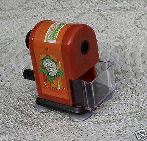 anspitzer mit kurbel hand manuelle spitzmaschine bleistift f r b ro und schule ebay. Black Bedroom Furniture Sets. Home Design Ideas