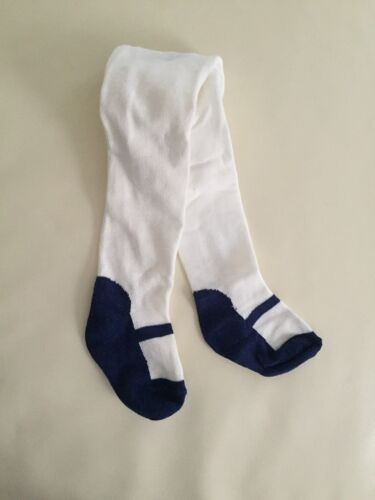 New Baby Girls Infant Faux Shoe Combed Cotton Knit Tights .. so soft! 0-9 months