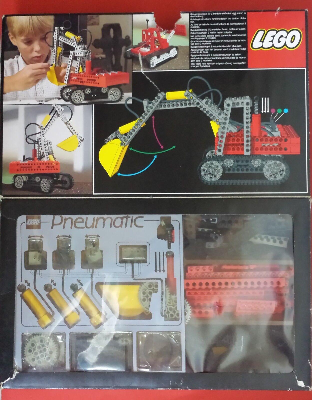 LEGO Technik 8851 potenza idraulica Escavatore con SCATOLA e ISTRUZIONI