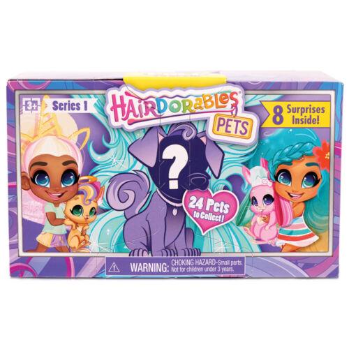 Series 1-23636 Hairdorables Pets 8 Surprise Pack