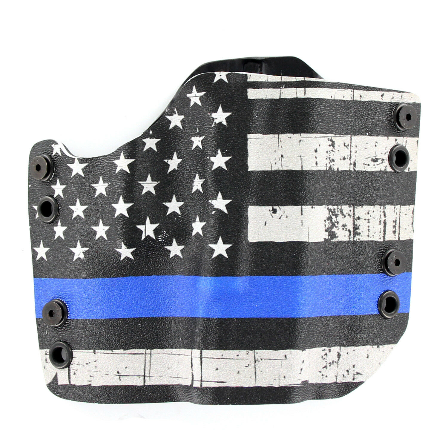 R&R HOLSTERS  SPRINGFIELD - OWB HOLSTER - USA Grunge bluee Line