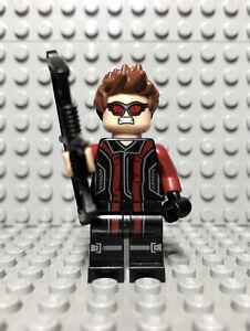 sh172 Lego Superhero Hawkeye Genuine Minifigure