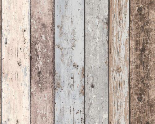 Vlies Tapete Holzoptik Planken beige grau AS Creation 8550-39 2,41€//1qm