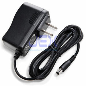 9v power adapter for guitar effects pedal center negative 100ma 300ma 500ma 1a 753263756299 ebay. Black Bedroom Furniture Sets. Home Design Ideas