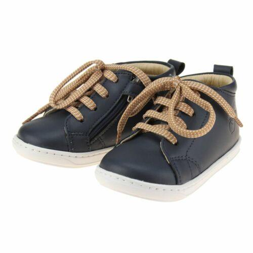 Shoo Pom Bouba Veg Infant Boys Navy Zip-up Shoe size eu kids children zip