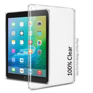 Orzly-FlexiCase-per-tutti-Apple-iPad-Tablet-Air-Mini-amp-Pro-100-TRASPARENTE