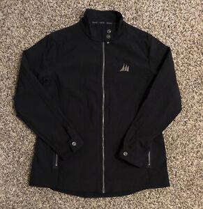 OGIO-Women-s-Full-Zip-Jacket-XL-Black-100-Polyester-Three-Sail-Logo-Sailing