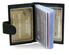 24 Cards Leather Soft Black