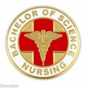 BSN-BACHELOR-OF-SCIENCE-NURSING-ROUND-GOLD-CADUCEUS-RED-MEDICAL-BADGE-PIN