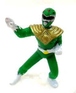 "POWER RANGERS MIGHTY MORPHIN ""GREEN"" plastica cm. 4 SABAN 1995"