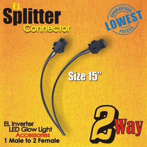 EL Splitter Connector 2-WAY