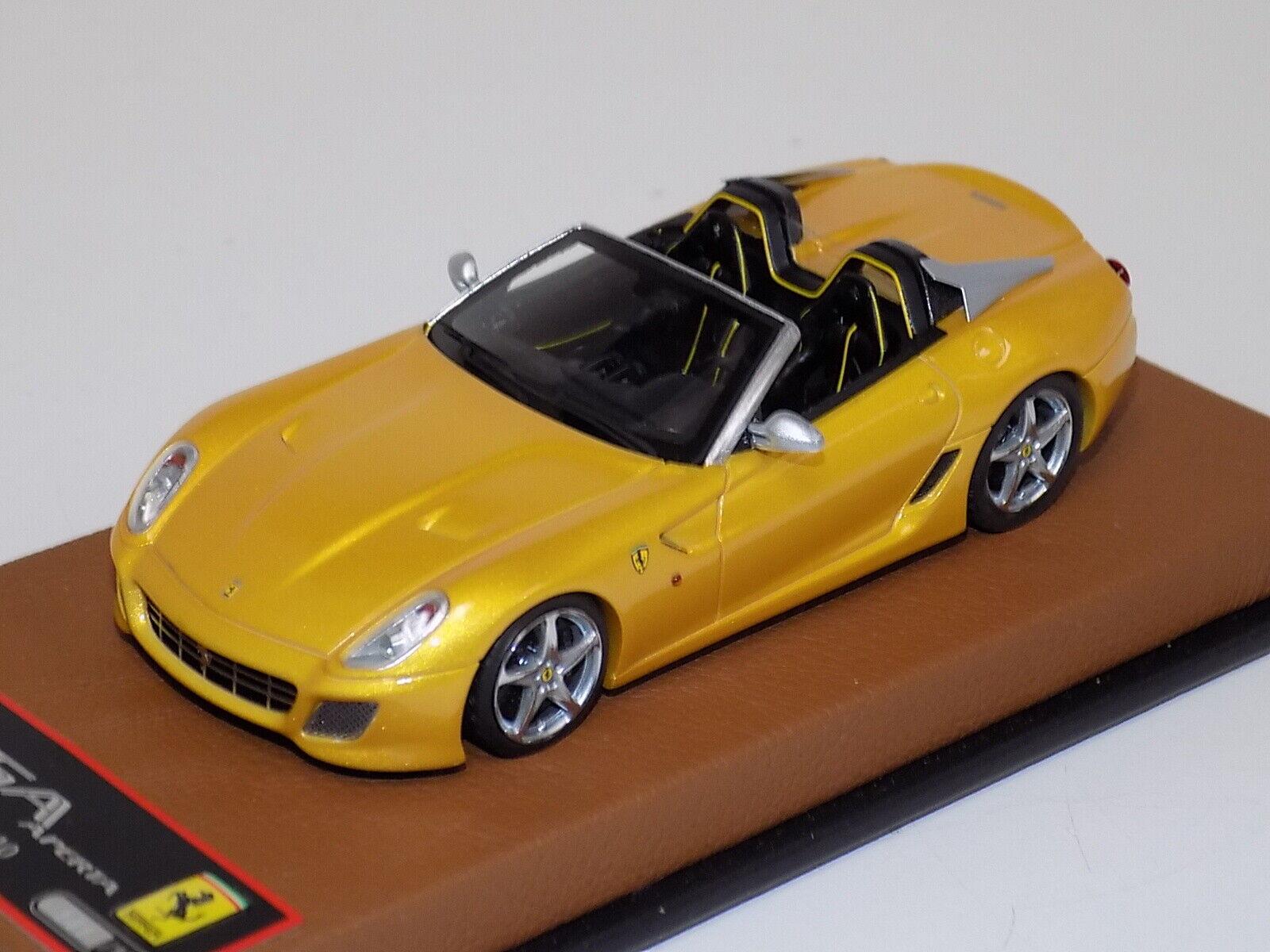 1 43 BBR Ferrari SA Apart in Tristrato  Gelb from 2010  Leather Base  GP184