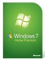 Microsoft MS Windows 7 Home Premium 32 Bit DVD   Lizenzkey Deutsch Multilingual