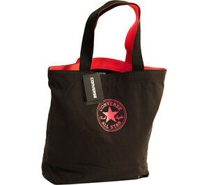 953eb59c6b6 Image is loading Converse-Shopper-Send-Off-Tote-Bag-Black-Pink