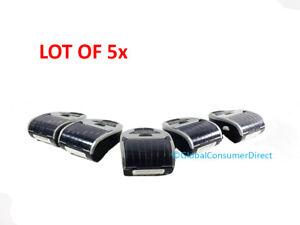 "LOT OF 5x Zebra MZ 320 MZ320 Portable Mobile BLUETOOTH Wireless USB 3"" Printer"