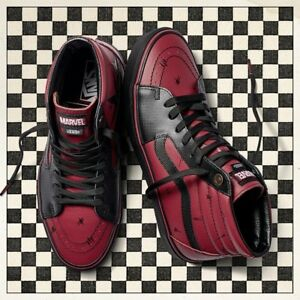 Marvel Sk8 Vans X Deadpool Sold Edition hi Trainer Out Limited Uk9 ZfdqdFwxn