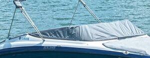 YAMAHA AR240 HO 2010-2014 Boat Cockpit Cover w/ Snaps CHARCOAL MAR-240CC-VR-CH