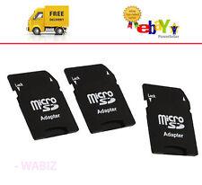 10 x MICRO SD ADAPTOR MINI ADAPTER SDHC MEMORY CARD CONVERTER TO STANDARD SD