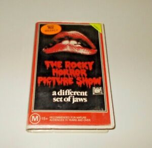 The-Rocky-Horror-Picture-Show-VHS-Pal-CBS-Fox-Original-Clamshell