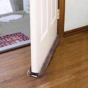 Under Door Weather Stripping Bottom Threshold Gap Double