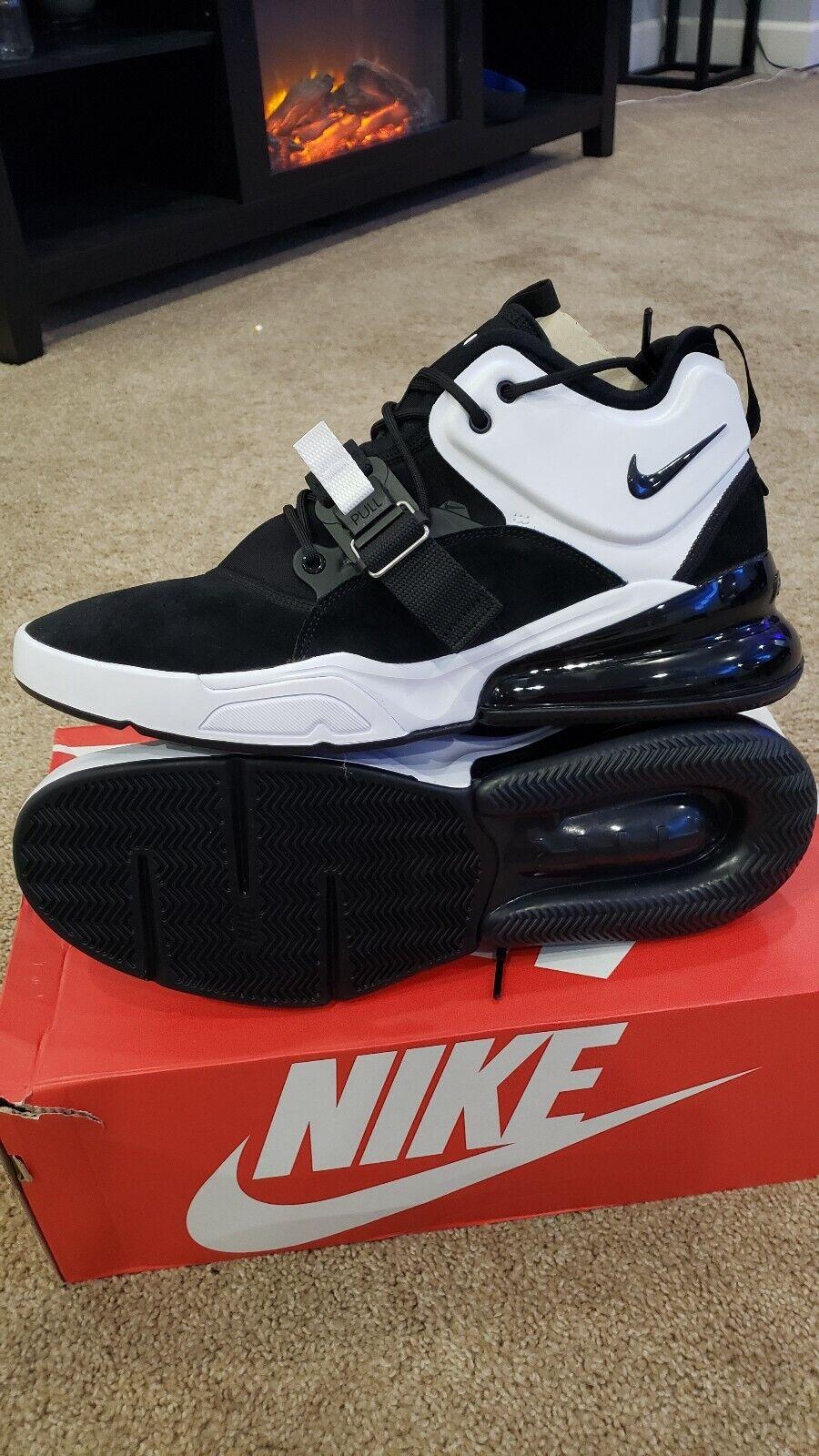 Nike Air Force Max  270 AH6772-006 Black White Size 13 ah6772 006
