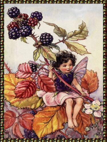 Decor Poster.Home interior design.Room wall print.Victorian Fairy.Children.6784