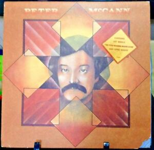 PETER-McCANN-Self-Titled-Album-Released-1975-Vinyl-Record-Collection-US-pressed