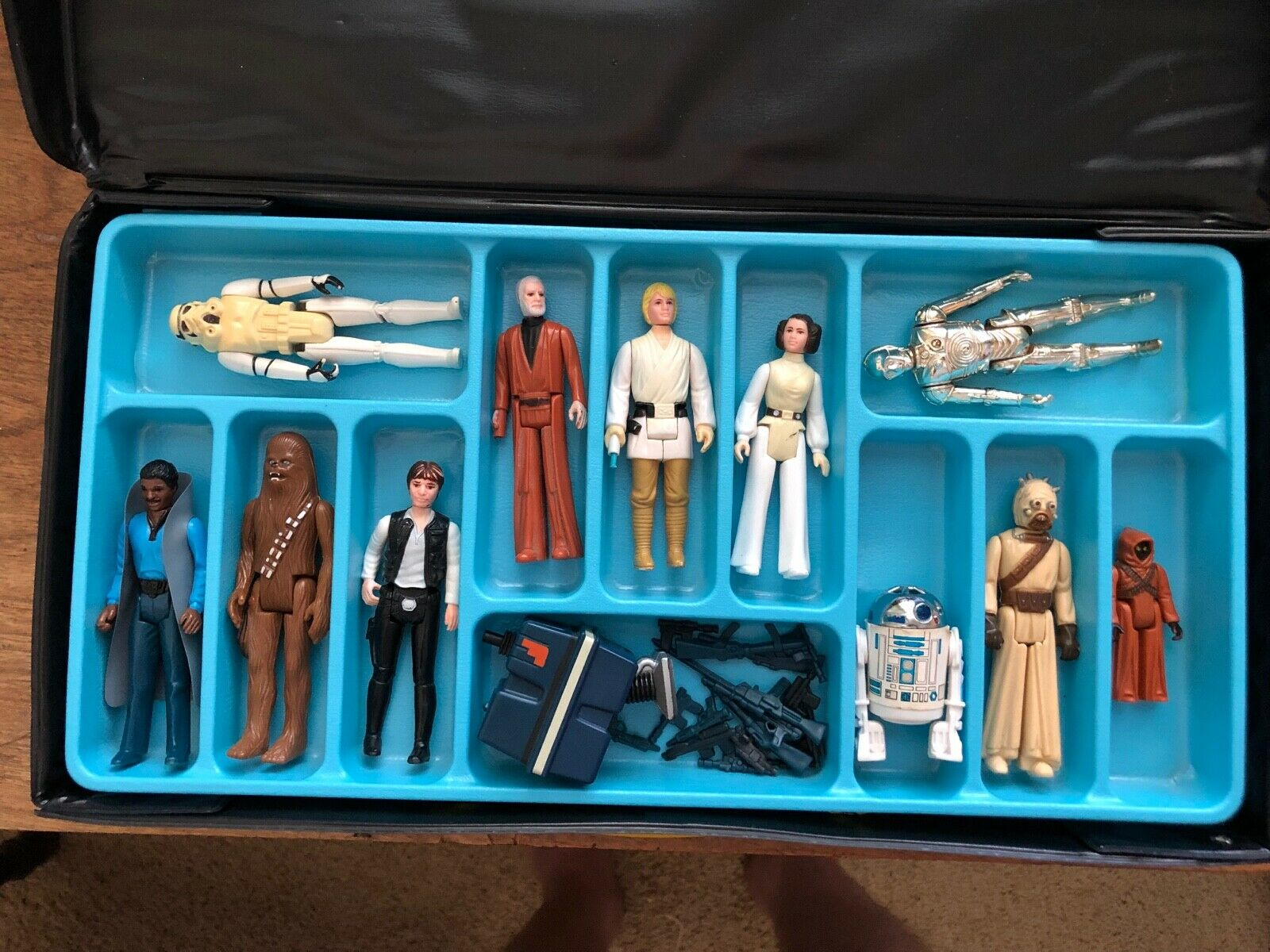Star Wars figures Lot with Space Case