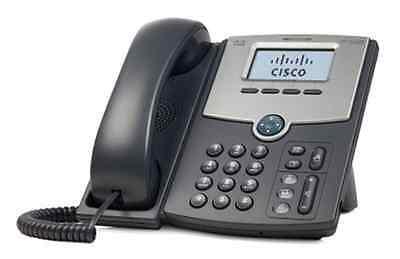 Cisco SPA502G SPA502 VoIP IP SIP Phone PoE LAN PC Port LCD Backlit Asterisk