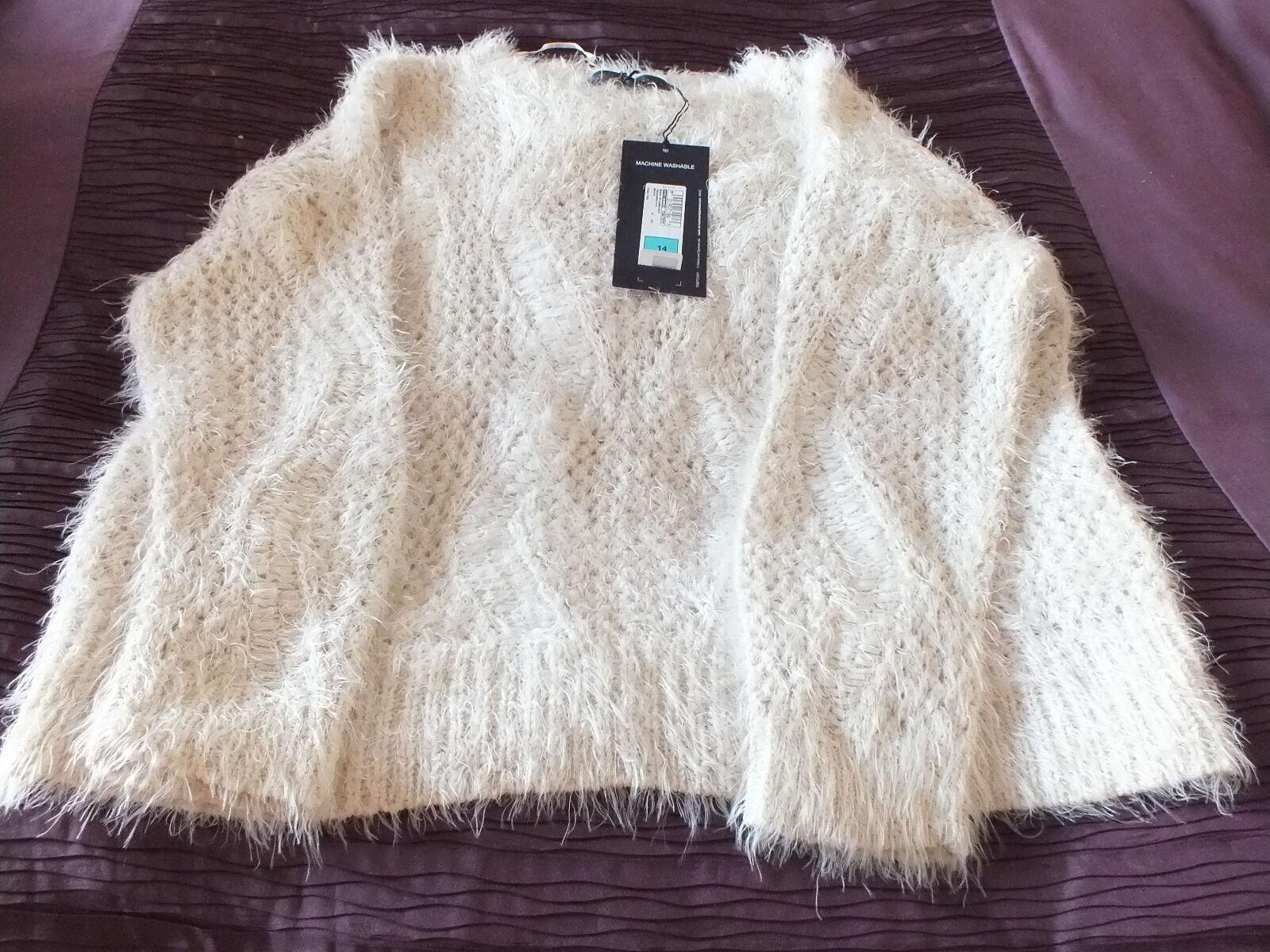 Marks Spencer Ciglia Da Donna & maglione (NUOVO con etichetta)