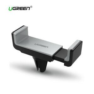 Soporte-movil-rejilla-coche-UGREEN-giro-360-grados-negro-gris-hasta-6-pulgadas