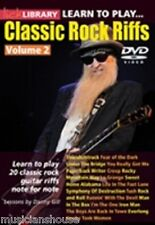 LICK LIBRARY Learn to Play CLASSIC ROCK Riffs VOL.2 ZZ TOP AC/DC HITS Guitar DVD