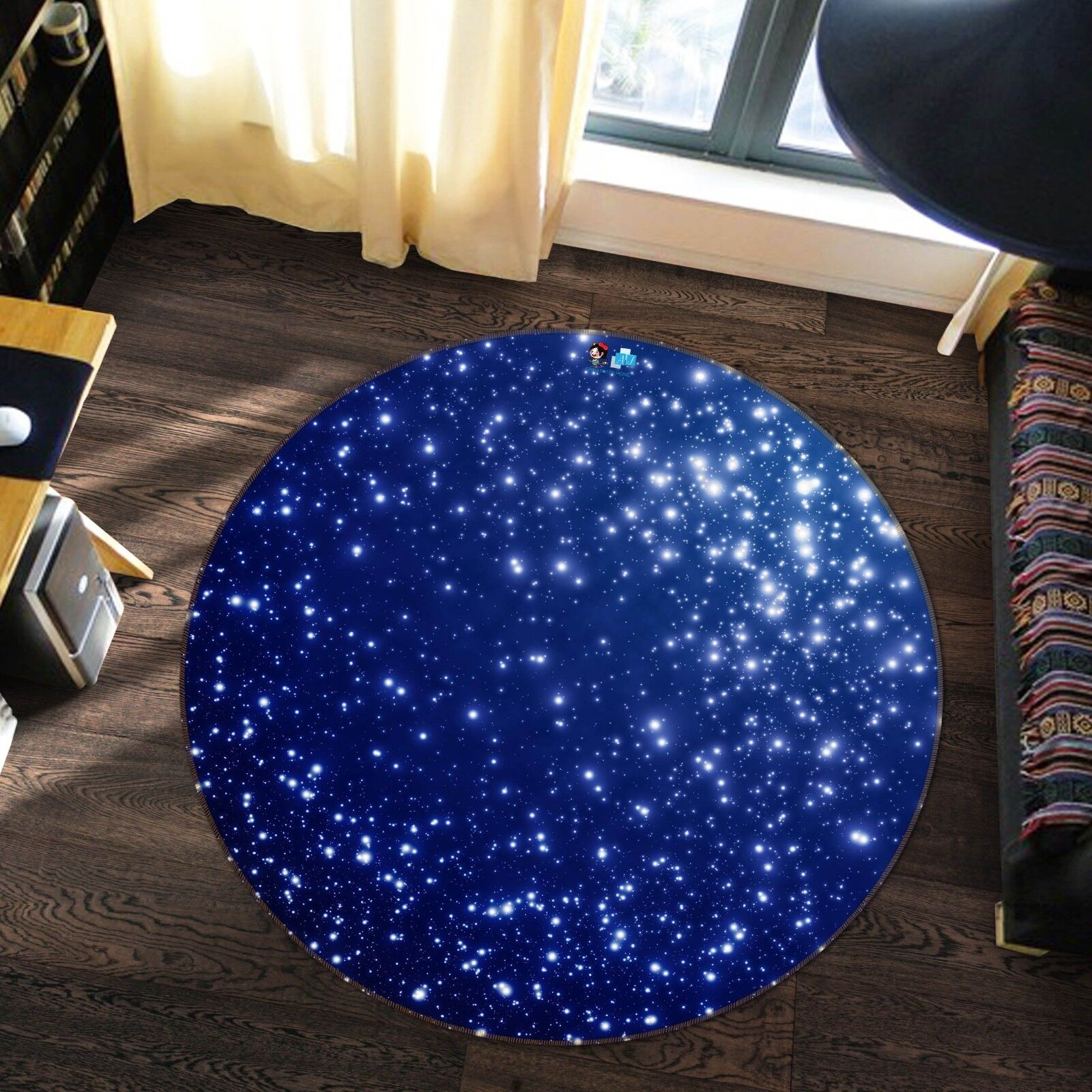 3D blu Sky 473 Non Slip Rug Mat Room Mat Round Elegant Photo Carpet US Summer
